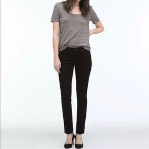 AG The Stilt Cigarette Leg Skinny Jeans Black